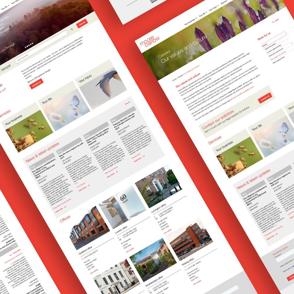 moore barlow website