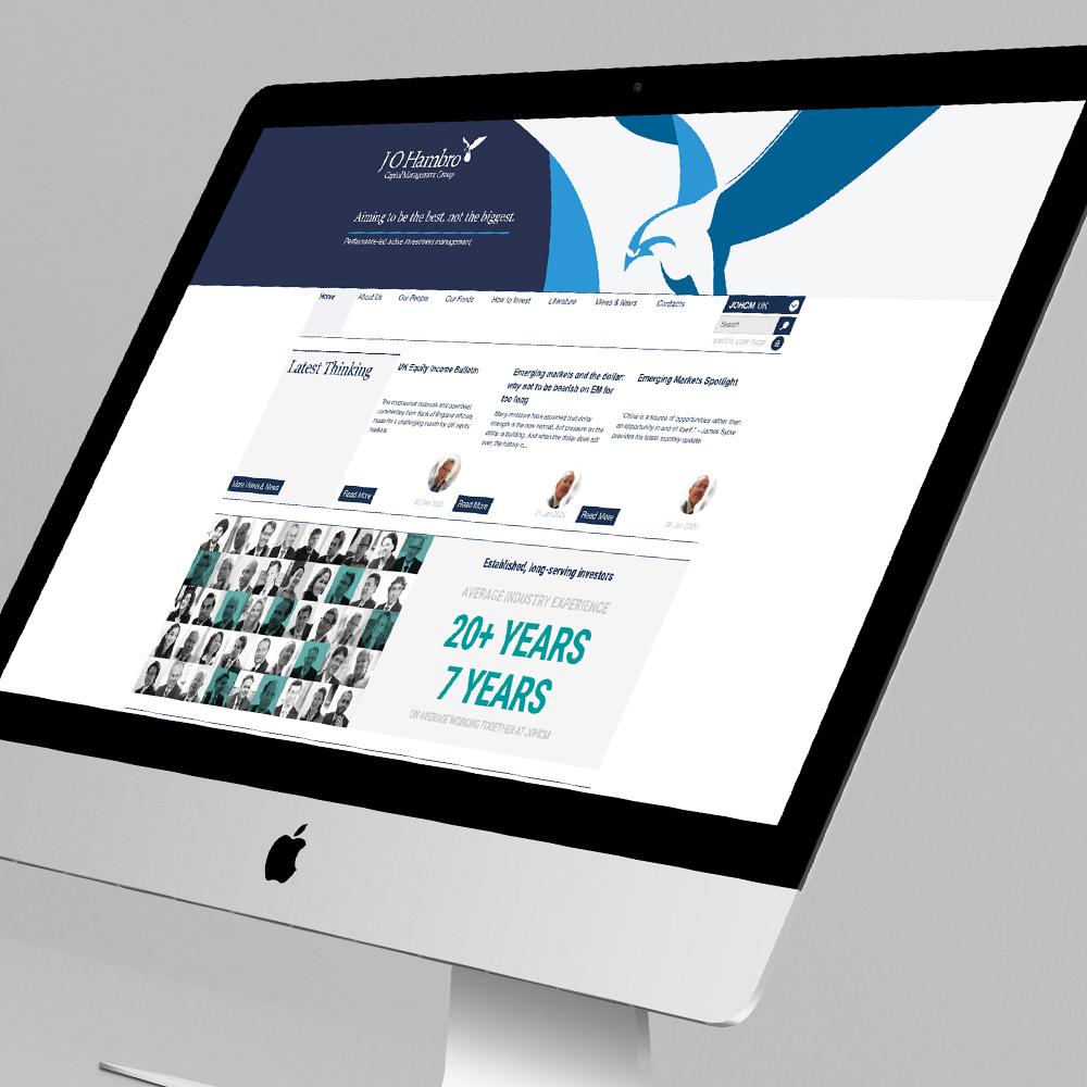 JOHCM website home page