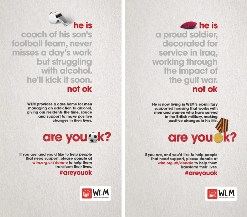 WLM Are you ok? Campaign Banners