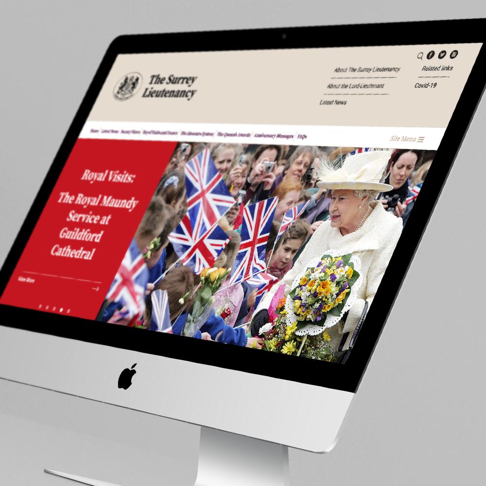 Surrey Lieutenancy website